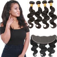Raw Wavy Virgin Brazilian Hair Extensions / 100 Real Virgin Brazilian Hair
