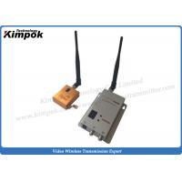 10km LOS FPV long range wireless transmitter Lightweight 1200Mhz Image Transmitter Zero Latency