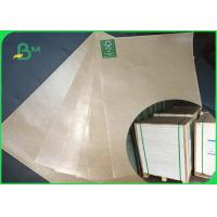 Thickness 50gsm Food PE Coated Paper Natural Color Direct Contact
