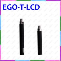 Ego T LCD 650mAh E Cigarette With Digital Display Puff Counter Ego T E Cigarette