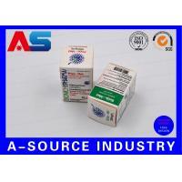 Medical Science Carton Box 10ml Vial Boxes CMYK Regular Printing Glossy Box