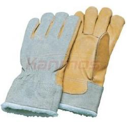 China Ladies cook / baking working Flame protective Winter Leather Gloves / Glove 12308 on sale