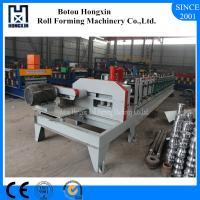 C U Purlin Roll Forming Machine, Flying Saw Cutting Steel Roll Forming Machine