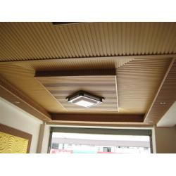China DIY Wood Plastic Composite Ceiling Environment Friendly for Wall Decoration on sale