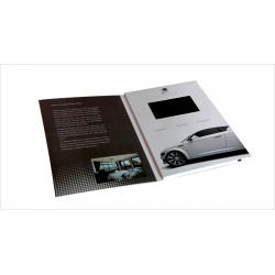 China Advertising video brochure card for greeting , lcd video mailer for fair display on sale