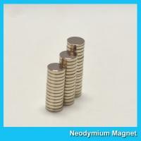 Rare Earth Circular Neodymium Magnets Round Disk Dia 12mm X 2mm Super Strong