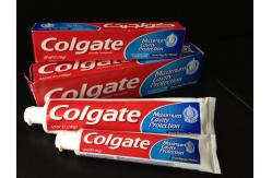 Vision of colgate toothpaste