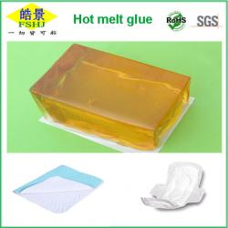 China First Grade Eva Material Hot Melt Adhesive For Sanitary , Women And Baby Care on sale