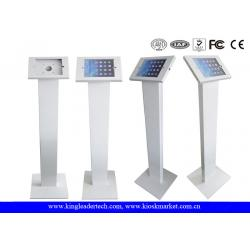 China Freestanding iPad Kiosk Stand Enclosure With Lockable Mechanism Design on sale