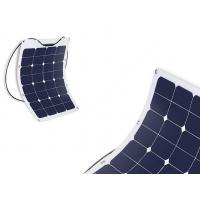 Durable Semi Flexible Marine Solar Panels Commercial For Camping / Portable Bag
