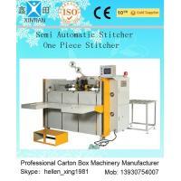 High Speed Semi Automatic Carton Folding and Stitching Machine 400nails/min