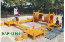 madera exterior equipos de juegos infantiles para parques temticos hap