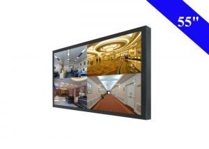 16.7M Colors CCTV LCD Monitor Wall Mount , Ultra Slim CCTV Camera Monitor