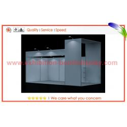 China Dismountable 10x20 Booth Trade Show Portable Exhibition Booth Systems on sale