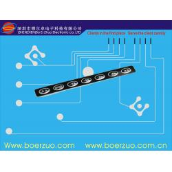 China Medical Industry LED Tactile Membrane Switch In Dark Environment on sale