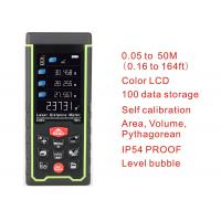 50m 164ft with Color LCD and Tilt angle Digital rechargeable Laser Rangefinder laser distance meter measure tools