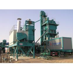China 1000C type Freda burner mobile asphalt plant 90kw induced draft fan 50mm mineral wool on sale