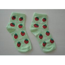 China Warm Jacquard Knitted Cotton Baby Socks on sale