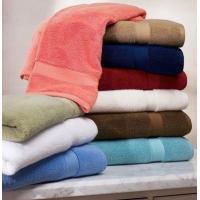 70% Bamboo 30% Cotton Bamboo Towel , Face / Hand / Bath Towel