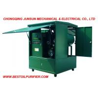 Full Enclosed Movable Type High Efficiency Made by Junsun Transformer Oil Dehydration & Degasification Plant