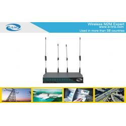 China WiFi WLAN IEEE802.11n HSUPA 3G VPN Router For Security Surveillance on sale