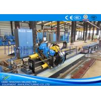Galvanised Steel Tube Cutting Saw , Flying Cut Off Machine Cutting Speed 90m / Min