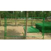 Durable Metal Mesh Fencing / Airport Security Fence For Protection Orchard
