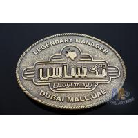Zinc Alloy / Pewter Metal 3D Boy Scouts of America Belt Buckle without Enamel for Awards, Sport Meeting, Souvenir