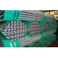 Welded Galvanized EMT Pipe / Tubing Q345 For Water , Gas , 1/2 - 4