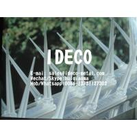 Clear Polycarbonate/Plastic Anti-Bird Spike Strips, Pigeon Repeller, Bird Spikes Kit Stop Birds Roosting, Cat Repel