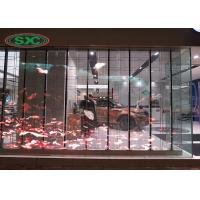 P10 Grid Flexible RGB LED Display , Led Flexible Screen 440*6000MM