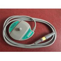 Edan Cadence II / F3 Fetal Transducer , 6 Pin One Notch Toco Transducer