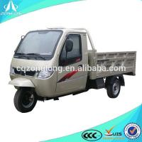 200cc three wheel motorcycle with cabin/closed cargo tricycle