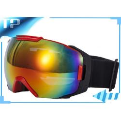 ski goggles orange  glasses ski