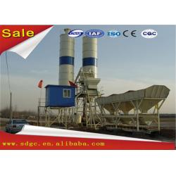 China Small Fixed Precast Wet Mix Concrete Cement Batching Plant / Mixing Plant on sale