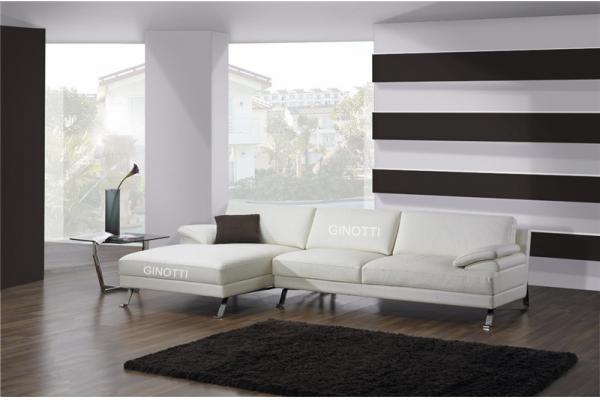 Sof cama de la esquina del cuero blanco sof modular del estilo italiano de la esquina fotos - Sofa cama esquina ...