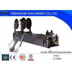 China 5,6,7 K Type Gutter Roll Forming Machinery Use Copper Aluminium steel on sale