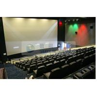 Pneumatic / Hydraulic / Electronic Control 4D Motion Cinema with removable theater seats