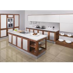 Wooden stand kitchen knife set wooden stand kitchen knife for Unassembled kitchen cabinets
