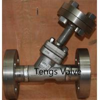 Forged Strainer, Y Type, Flanged RF, Carbon Steel, Stainless Steel, with Flange Drain Valve