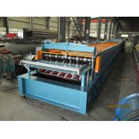 Automatic Metal Deck Roll Forming Machine / Steel Deck Roll Former