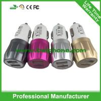 in-car chargers, two USB ports car chargers, multi usb port car charger