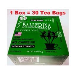 China Slimming Tea Three Ballerina Weight Loss Tea Herbal Tea Good Effects on sale