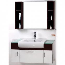 Cabinet with double wash basin cabinet with double wash for Bathroom wash basin counter designs