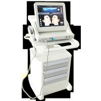 Super Stand Stype Three Heads Face Lifting Hifu Machine , 800w Power Skin Rejuvenation 10000 Shots