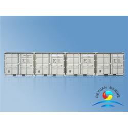 China Customized Standard Shipping Container , 10 Feet / 20 Feet  Side Opening Storage Containers on sale