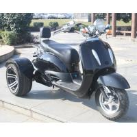 1000w Electric Moped Bike , 3 Wheel Scooter Motorcycles With Brushless Motor