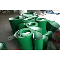 Smooth Surface Green PVC Conveyor Belt Replacement Conveyor Belts Thickness 1mm ~ 7mm