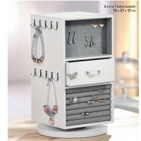 High-end pu leather pandora jewelry display for jewelry shop design