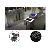 infrared automatically turnstile mechanism barcode reader swing hidden gate barrier for student access